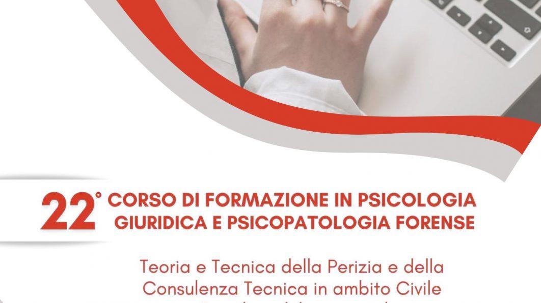 22° Corso di Formazione Psicologia Giuridica e Psicopatologia Forense